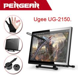 """Ips tableta al por mayor en venta-Comercio al por mayor UGEE-UG-2150 UG2150 Gráfico Dibujo Tablet 21.5 """"Mejorado de Ugee 19"""" IPS Monitor de 1920x1080 HD Display mejor que Huion"""