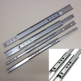 Wholesale 2PCS Pair mm Heavy Duty Full Extension Metal Ball Bearing Drawer Runners Slides