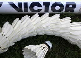 Wholesale Victor CHAMPION NO Badminton Shuttlecock Hot Selling Genuine Guaranteed Y1203