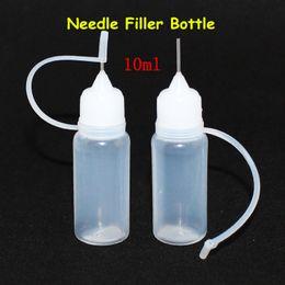 e juice bottles 10ml wholesale 10ml empty plastic bottles e liquid and test drip pipe for e cigarettes liquid top fast shipping