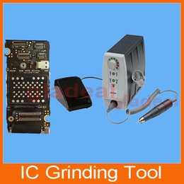 Wholesale Mini Manual IC Chip Grinding Removing Tool Machine for iPhone S C S Plus Mainboard Motherboard Nand Flash Baseband ID iCloud Unlock B