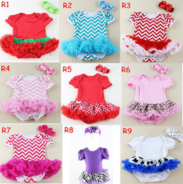 5 size U pick Color size Baby Toddler Girls Tutu Romper Dress Short Sleeves & headband 2 PCs tutu skirted dress set