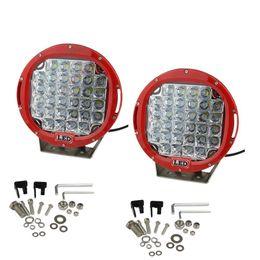 10inch 225W LED Work Light Tractor Truck 12v 24v IP68 SPOT Offroad LED Drive light LED Worklight External Light seckill 96W 111W 160W 185W