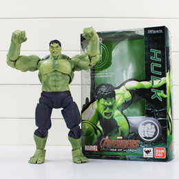 19cm The Avengers SHF S.H.Figuarts Hulk PVC Action Figure Toy Collectible Model Doll Toys Great Gift