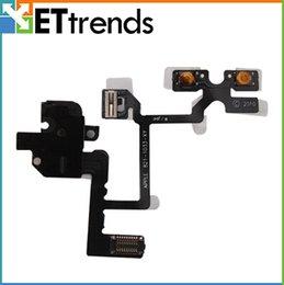 Wholesale Audio Flex Cable Ribbon Replacement Spare Part Headphone Audio Jack Sensor Flex Cable Ribbon For iPhone AA0039