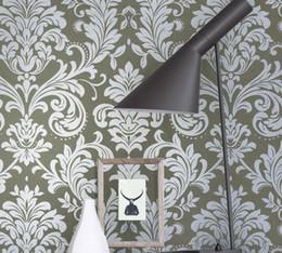 gray damask wallpaper online | gray damask wallpaper in vendita su ... - Carta Da Parati Damascata Vendita On Line