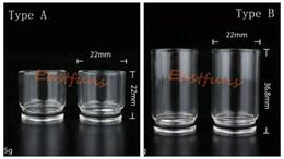 Top Quality Glass Tobh ATTY Drip Tip Chuff Top Cap POM Best E Cig Wide bore for 22mm Tobh Atty RDA RBA mod Atty Plume Veil Atomizer DHL Free