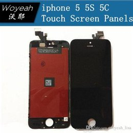 AAA 100% Original For iphone 5 5G 5S 5C LCD Display With Touch Screen Digitizer For iPhone Assembly Replacement Free Shipping DHL