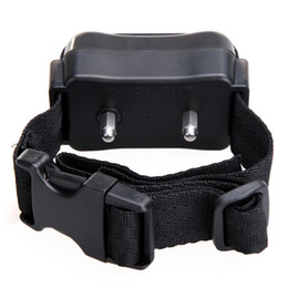 Wholesale NEW Hot Auto Static Shock Anti No Bark Control Collar for Training Dog Stop Bark T0682 SUP5