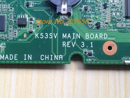 Wholesale Available new For asus K53SV REV REV GT540M GB notebook system board warranty months