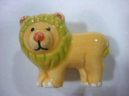 Wholesale Dresser Knob Drawer Knobs Pulls Handles Lion Childrens Animal Baby Kids Decorative Furniture Cabinet Knob handle Pull Hardware