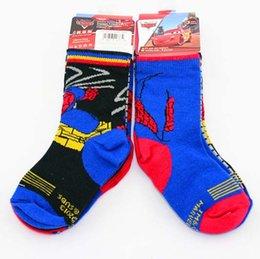 Wholesale Spiderman Socks For Kids Baby Socks Boys Socks Children Clothes Child Clothing Knit Knee High Socks Kids Sock Fashion Best Socks C8245