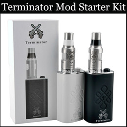 Wholesale Terminator Mod Starter Kit Mech Mod Battery Box Mod Aluminum Bottom feeder mod vs subox mini box mods Angles Demons Anubis Mod Kits