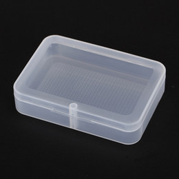 High quality transparent Playing CARDS plastic box PP Storage Collections Container Box Case