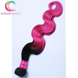 Ombre Brazilian Hair Extensions 1B Pink Brazilian Virgin Hair Bundle Deals 3 Bundles Brazilian Body Wave Human Hair Weave