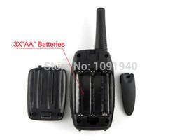 Deux radios bidirectionnelles vente à vendre-vente en gros-chaud moniteur Fonction Mini T-628 Walkie Talkie Voyage Mis à jour T628 Two Way Radio