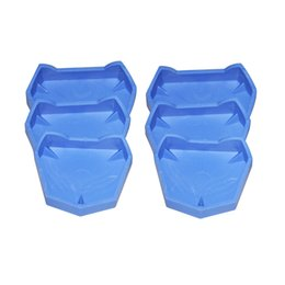 Wholesale New Arrival Set Dental Lab Model Former Denture Model Base Molds with notches By Registered Air Mail