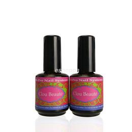 Wholesale x ml CB Nail Nail Art Acrylic Sealer Non Sticky Polish DIY UV Gel Top And Base Coat