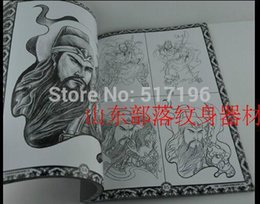 Wholesale Chinese Traditional Tattoo Books China Ancient Gods Characters Tattoo Designs Tattoo Sketchbook chinese stencil painting book