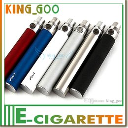 Wholesale Ego T e cig battery electric e cigarette batteries manual battery ce4 atomizer mah huge capacity variable colours best quality