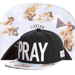 PRAY Cayler & Sons Snapback UNISEX Snapbacks Hats Cap Adjustable Hip Hop Snapback High Quality TYMY 39