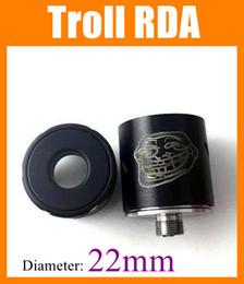 Troll rda Troll rebuildable atomzier troll rda atomizer Authentic troll rda designed by WOTOFO A-MOD VS Doge V2 RDA Freakshow ATTY ATB165