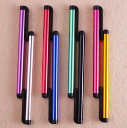Wholesale Capacitive Screen Stylus Pen Touch Pen For iPhone iPad iTouch Samsung Galaxy S5 S4 S3 Note Pad Tablet PC Cellphone