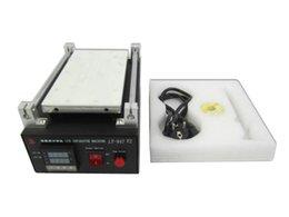 Wholesale LY V2 Mobile Repairing Machine LCD screen separator with built in vacuum pump