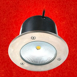 Free shipping 12pcs lot 16W COB LED underground light waterproof IP68 LED garden light 100lumens w 2year warranty