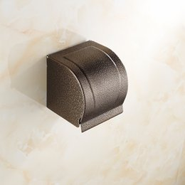 2015 good quality bathroom hardware tissue paper dispenser, toilet paper holder, Bronze paper tissue boxes A-FN511
