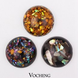Wholesale Vocheng Noosa Snap Interchangeable Button Snap Jewelry Colors Resin Ginger Snap Jewelry Vn