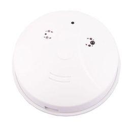 Wholesale Motion Detection Mini DV video recorder New x480P Mini Smoke Camera Detector model Dvr Pinhole DV Remote Control G or G