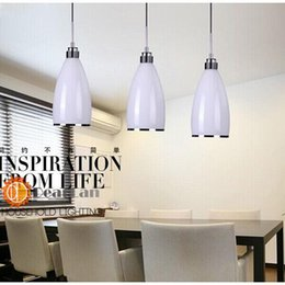 Wholesale White cylindrical modern pendant Apply to parlor restaurant LED Item Choose andy lamps and lanterns order lt no track