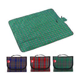Wholesale Ultra Light Portable Picnic Mat Outdoor Beach Picnic Camping Mat Multiplayer Waterproof Moistureproof Baby Climb Plaid Blanket