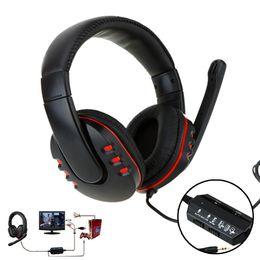Promotion casque stéréo xbox Gros-4 en 1 Gaming Headset Hifi Professional Game casque écouteur stéréo avec microphone pour PS3 PS4 XBOX 360 PC Computer Laptop