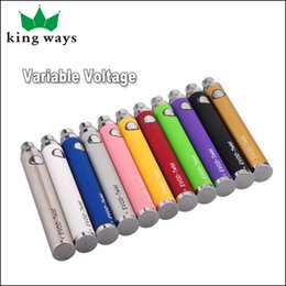 Wholesale Retail Evod Twist mah Battery Twist Battery Different Colors China Factory Manufacture Top Quality DHL UPS