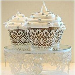 240pcs lot Heart Design Laser Cut Paper Wrapper Cake Cupcake Surrounding Edge Wedding Party Pancake Packing wc563