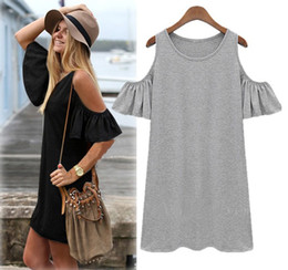 Wholesale-2015 summer dress women clothes butterfly sleeve cotton cute strapless dress plus size XXXXL size sexy ladies beach dresses