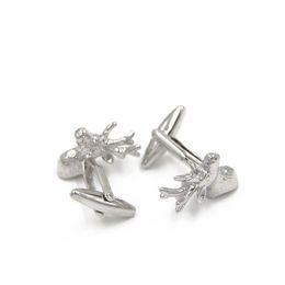 Lovely Christmas Gifts Series- Santa Deer Cufflink- Fashion Deer Cufflink