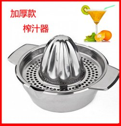 Wholesale Special hot thick stainless steel orange juicer manually pressed lemon juice juicer juice machine baby