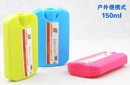Wholesale ml Multicolour Ice Box Cooler Bag Mini Unlimited Use Environmentally Friendly Mini Ice Pack Keep cool