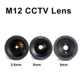 Wholesale M12 Fixed lens mm mm mm board camera lens for M12 lens mount for CCTV Analog IP Camera
