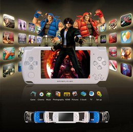Wholesale GB inch Video Game player M Camera MP3 MP4 MP5 Console Player games TV out
