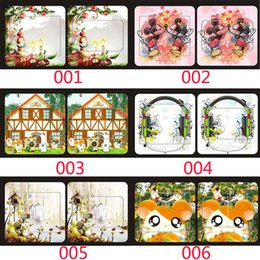 Wholesale Cute Cartoon Art Mural Switch Sticker Decor Decals Kids Nursery Room Switch Covering Decal Sticker Cute Totoro Minnie Hello Kitty Cat