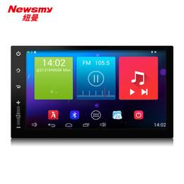 Wholesale Car Navigation 2din - Android4.4 4core car navigation 32G ROM NR3001 2din 7inch touch screen 1024*600 car radio cd head unit HD gps 24bit dual BT