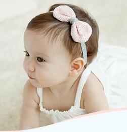 Hot Cute Baby Girl Hair Band Infant Kids Headwrap Lace Bow Princess Hair Ribbon Photo Prop Hair Ornaments Hairband Children Hair Accessories
