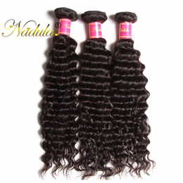 Nadula Malaysian Deep Wave Hair Weaves 3Bundles Remy Hair Extensions Wholesale Human Hair Bundles Weave Wet and Wavy Cheap Natural