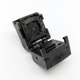 Wholesale QFN64 MLF64 Burn in Socket IC Test Socket IC550 G Pitch mm Chip Size Flash Adapter Clamshell Programming Socket
