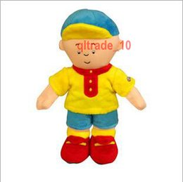 Wholesale Caillou Rosie Plush Doll - 200 TOPB5341 30cm caillou rosie plush Toys caillou rosie Stuffed Animal Soft Dolls animation cartoon Plush toy dolls kids Christmas Gifts