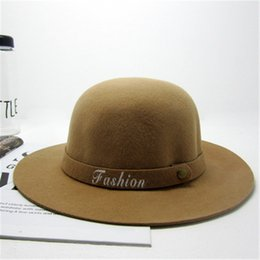 2015 New Fashion Letters Fedora Caps Cap Weared In Winter For Women
